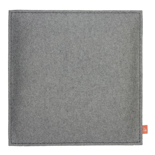 Stuhlkissen Grau sitzkissen stuhlkissen aus filz grau - paderborner frauenzimmer