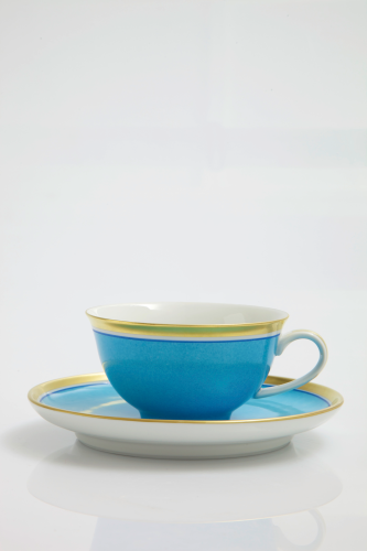 Kaffee/Teetasse Colour (Flache Tasse)