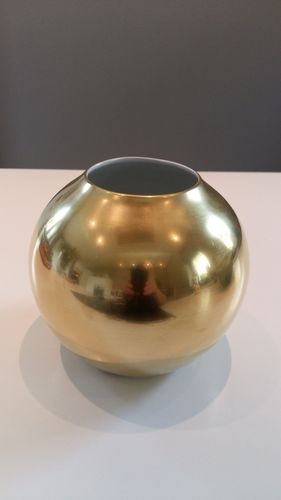 Kugelvase  Colour Vollgold