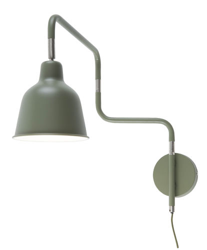 Wandlampe London olive grün