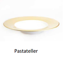 Pastateller  Colour Vollgold
