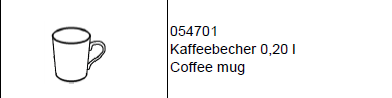 Kaffeebecher Colour Vollgold