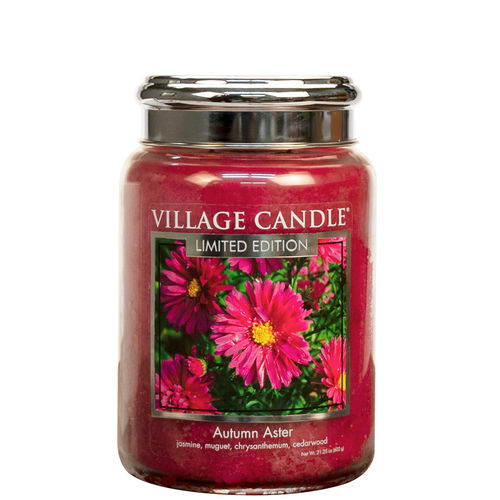 TRADITION AUTUMN ASTER Duftkerze Village Candle